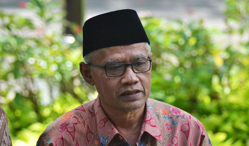 Ketum Muhammadiyah Dr. Haidar Nasir.