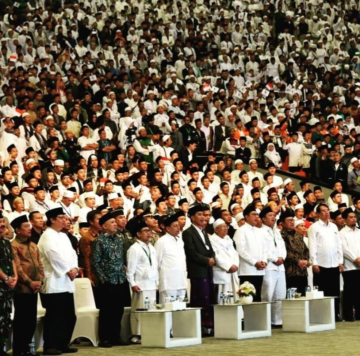 Presiden Jokowi di FSN