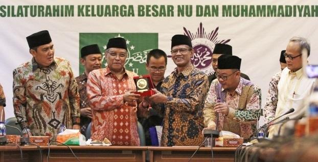 Silaturahim NU dan Muhammadiyah