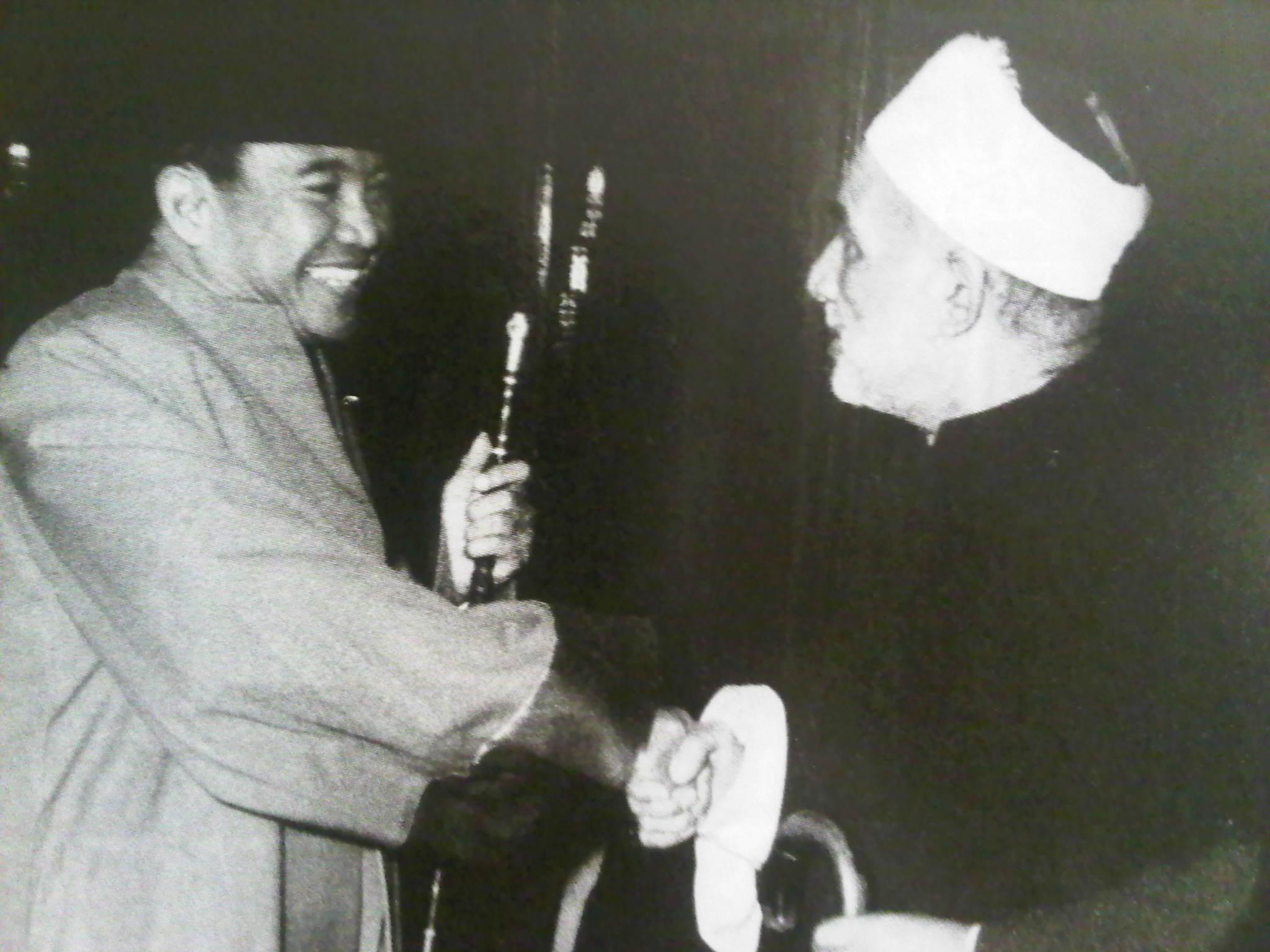 Bung Karno dan Grand Syaikh