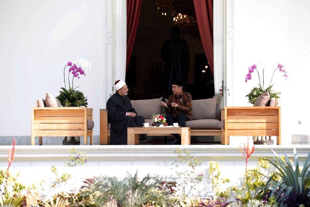 Jokowi dan Grand Syaikh. IslamRamah.co