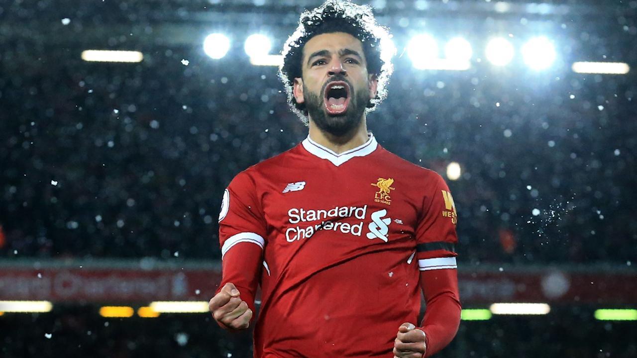 Mohamed Salah Pemain Terbaik 2018 di Inggris - Imager Mirror.co.uk -