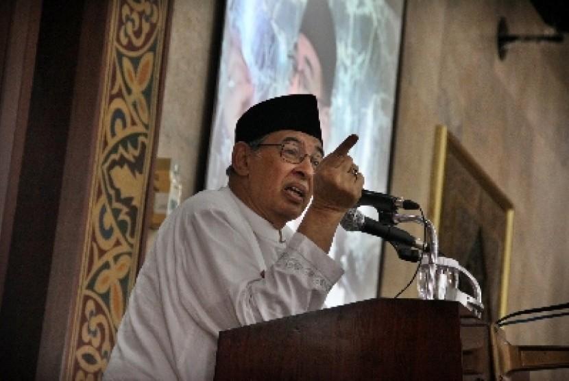 Prof Dr Quraish Shihab-Pilih Pemimpin Yang Tidak Ambisius Kekuasaan-IslamRamah.co