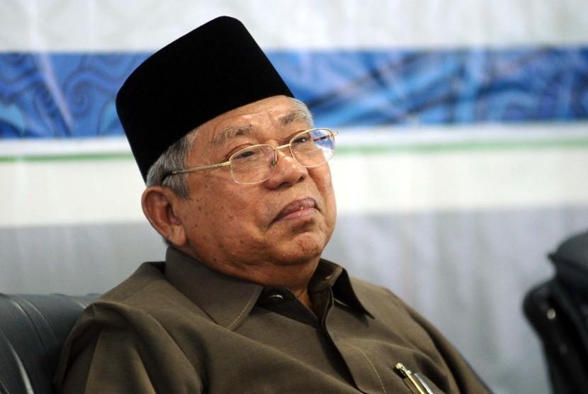 Kiai Ma'ruf Amin- Menjaga Moderasi Islam-IslamRamah.co