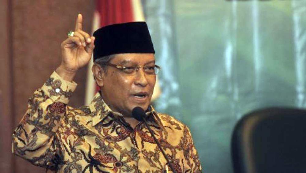 Kiai Said Aqil Siroj-Pancasila Tidak Mengurangi Islam Kita-IslamRamah.co