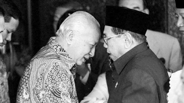Humor-Gus Dur Bercerita Tentang Pak Harto Yang Terhanyut Banjirr-IslamRamah.co