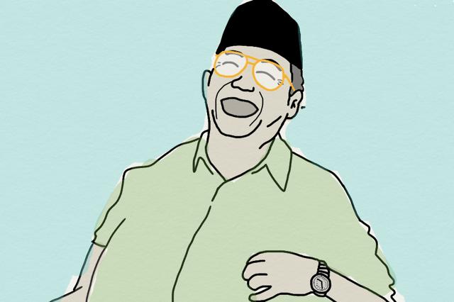 Humor-Tujuan Sholawat Gus Dur Beda-IslamRamah.co