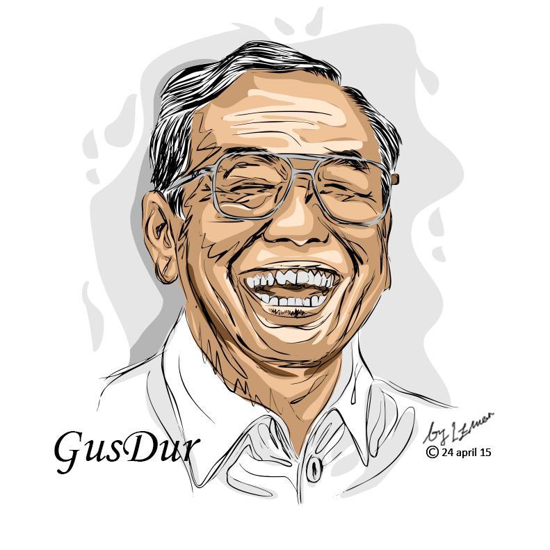 Gus Dur-Di Masa Kepemimpinan Amien Rais, NU-Muhammadiyah Sejajar-IslamRamah.co