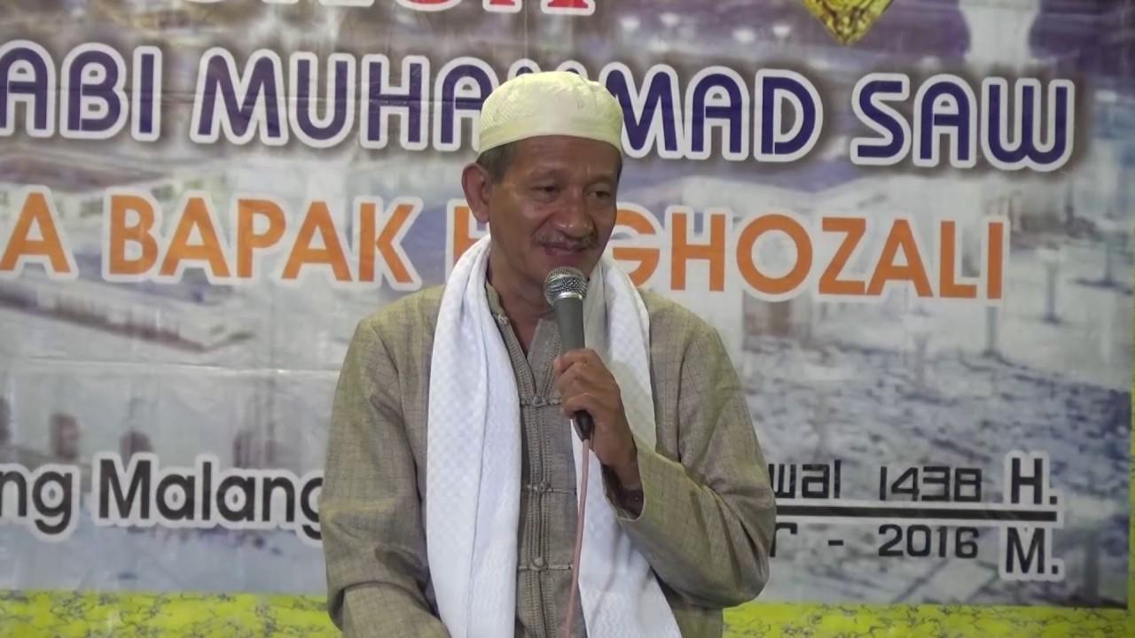KH Agoes Ali Mansyuri- Allah Meninggikan Derajat Orang Berilmu- IslamRamah.co