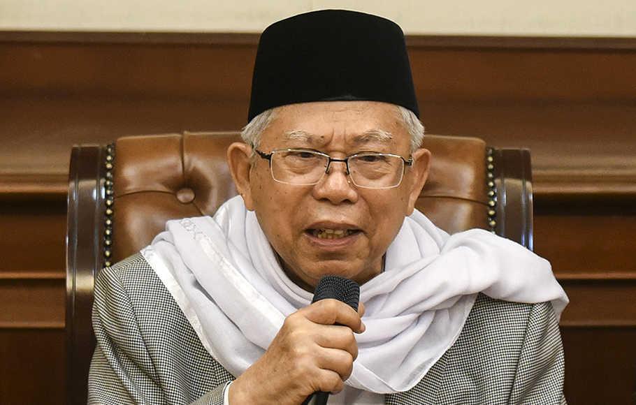 Kiai Ma'ruf Amin-Santri Harus Menguasai Dunia Digital-IslamRamah.co