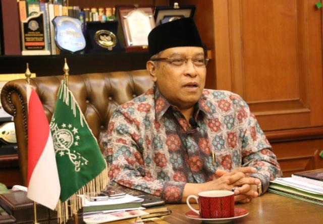Kiai Said Aqil Siroj-Mayoritas Ulama Melarang Menulis Kalimat Tauhid di Bendera-IslamRamah.co