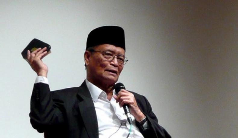 Buya Syafii Maarif-Elite Politik Harus Merajut Persatuan-IslamRamah.co