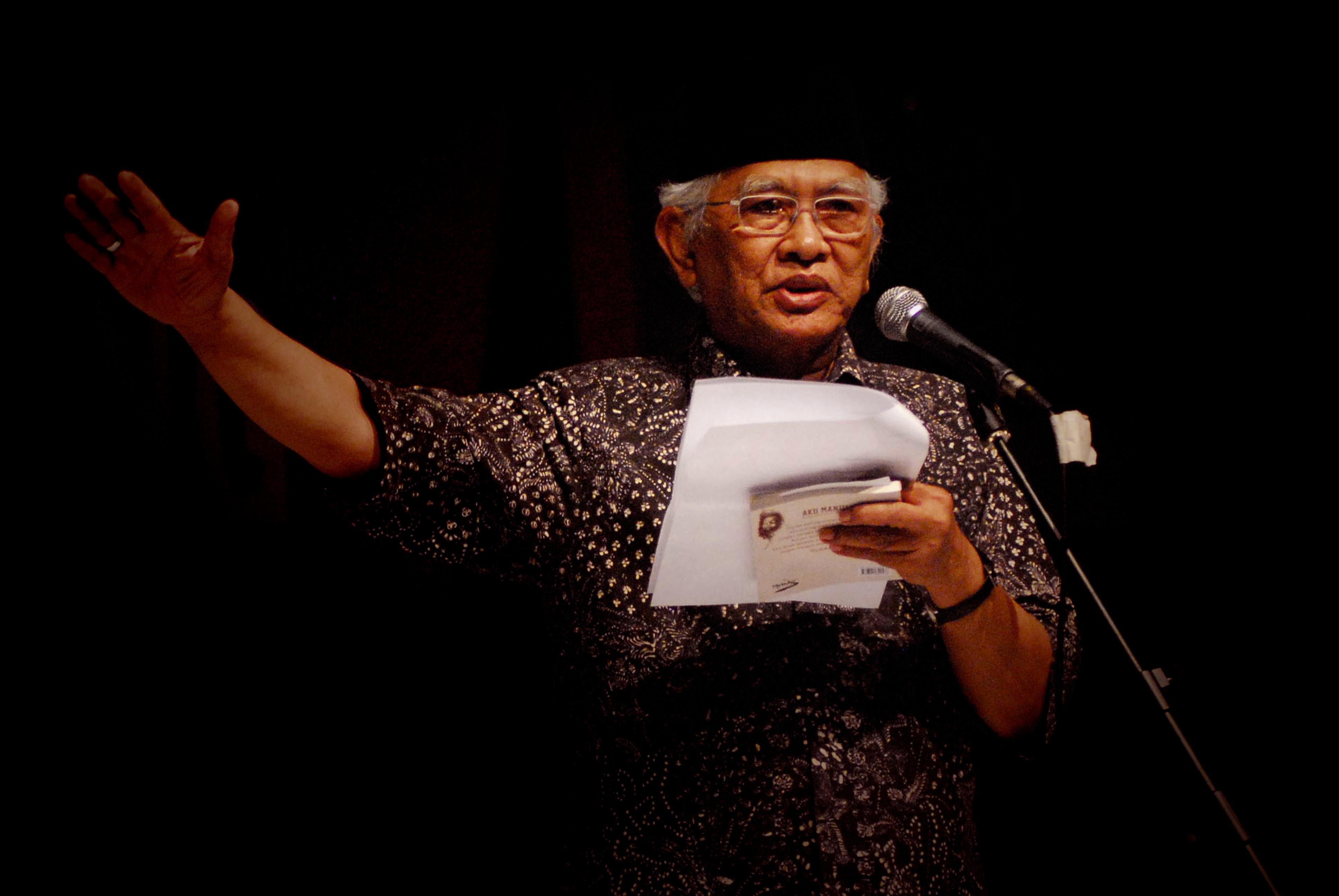 Gus Mus-Berislam, Kita Butuh Sastra-IslamRamah.co