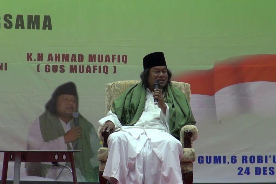 Gus Muwafiq-Nabi Tidak Mudah Mengafirkan Orang Lain-IslamRamah.co