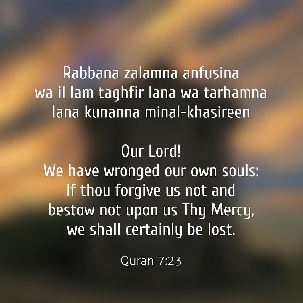 Doa-Doa Ketika Mengalami Penyesalan -IslamRamah.co