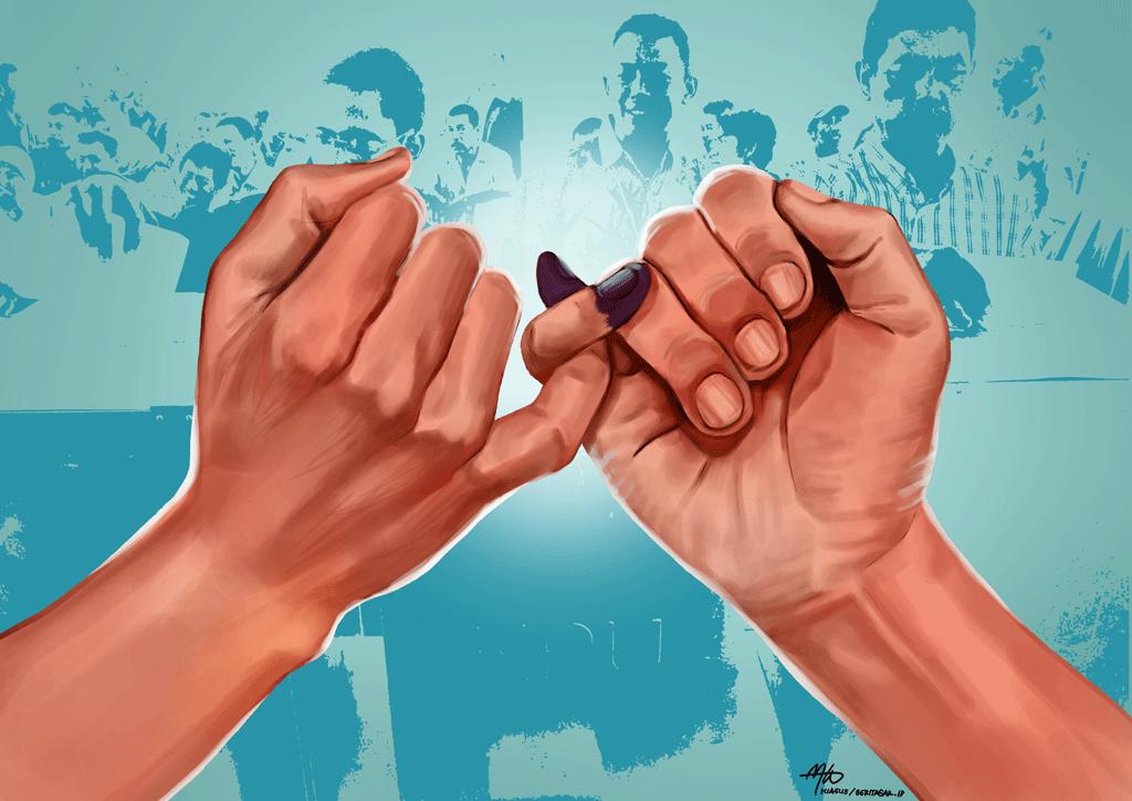 Pemilu Harus Berjalan Damai-IslamRamah.co