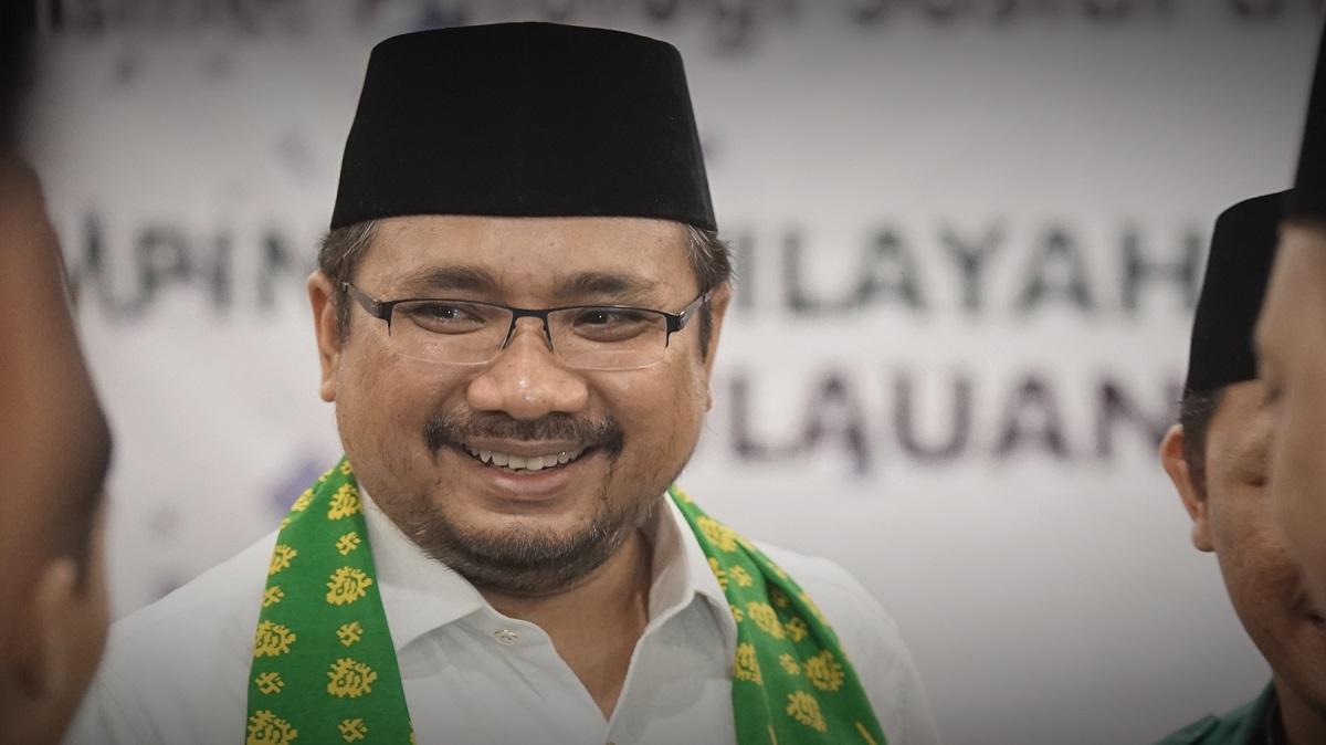 Gus Yaqut-Idulfitri Hari Raya Persatuan Indonesia -IslamRamah.co
