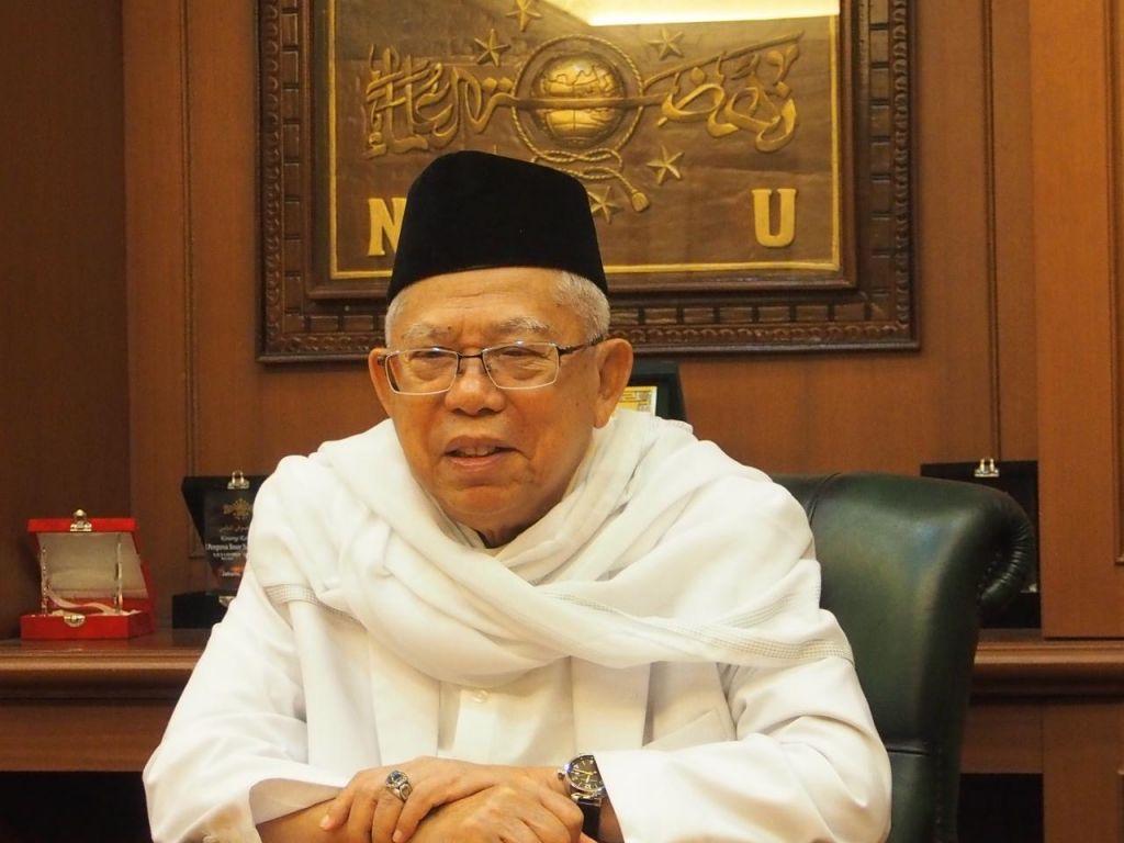 Kiai Ma'ruf Amin-Idul Fitri Momentum Merekatkan Kerukunan-IslamRamah.co