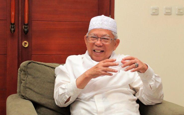 Kiai Ma'ruf Amin-Jadilah Bagian Membangun Indonesia-IslamRamah.co