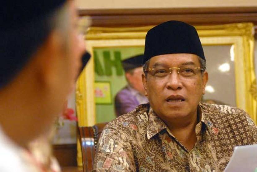 Kiai Said Aqil Siroj-Dakwahkan Islam Yang Moderat-IslamRamah.co