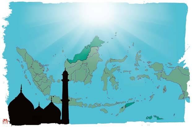 Indonesia Kiblat Islam Moderat Dunia-IslamRamah.co