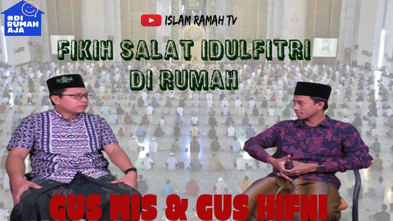 Fikih Shalat Idul Fitri di Rumah-IslamRamah.co