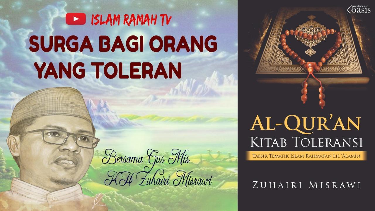 Surga Bagi Orang yang Toleran-IslamRamah.co