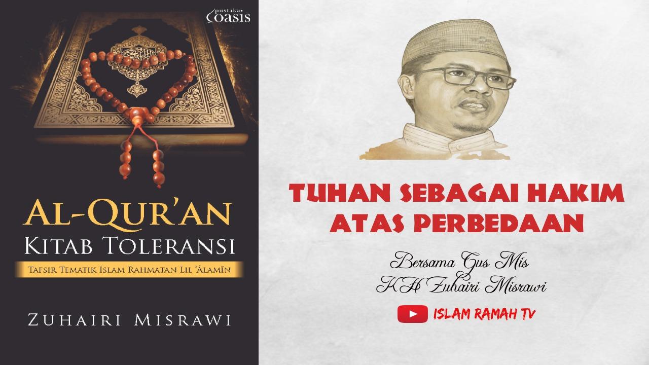 Toleransi-Tuhan sebagai Hakim atas Perbedaan-IslamRamah.co